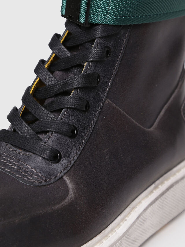 Diesel - H-CAGE HIGH ST, Opaque Black - Boots - Image 5