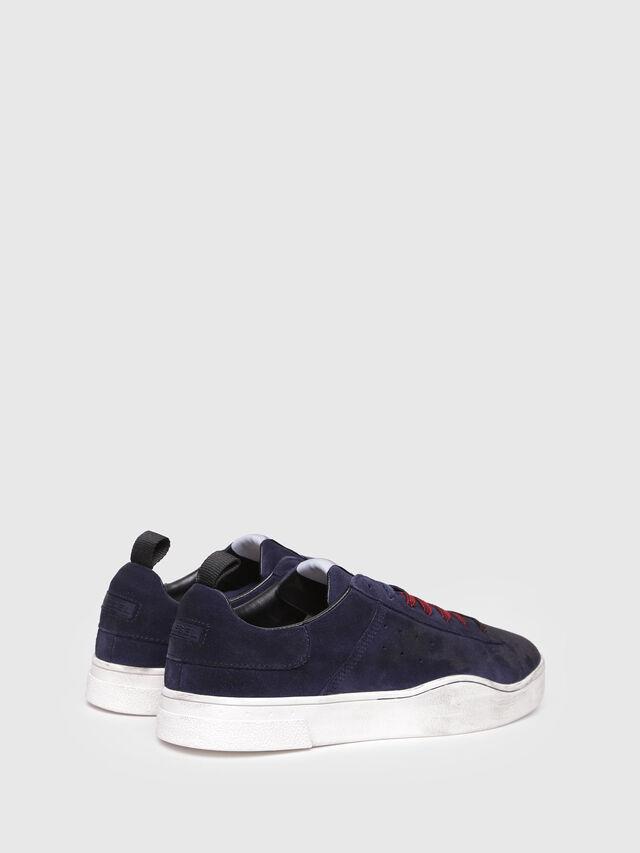 Diesel - S-CLEVER LOW, Dark Blue - Sneakers - Image 3