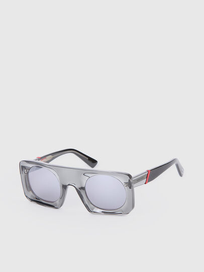 Diesel - DL0292, Gray/Black - Sunglasses - Image 2