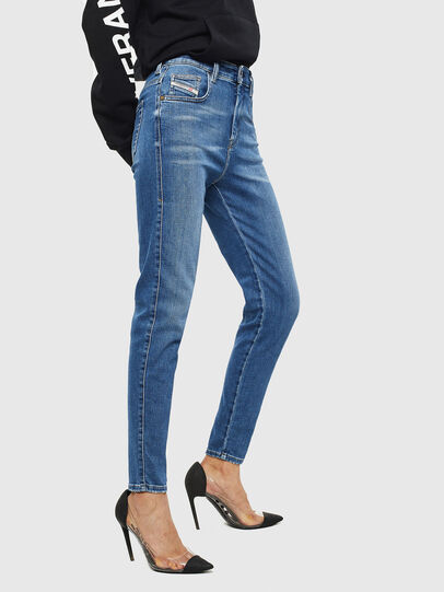Diesel - Slandy High 009AG, Medium blue - Jeans - Image 4