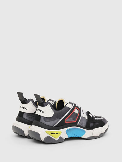 Diesel - S-KIPPER LOW TREK II, Grey/White - Sneakers - Image 3