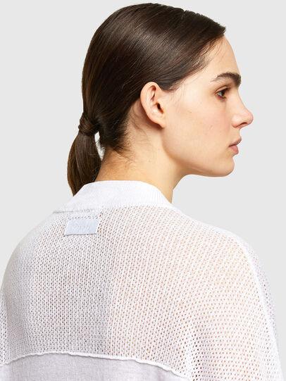 Diesel - M-ALEXA, White - Knitwear - Image 4