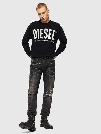 Diesel - K-LOGOS, Black - Knitwear - Image 7