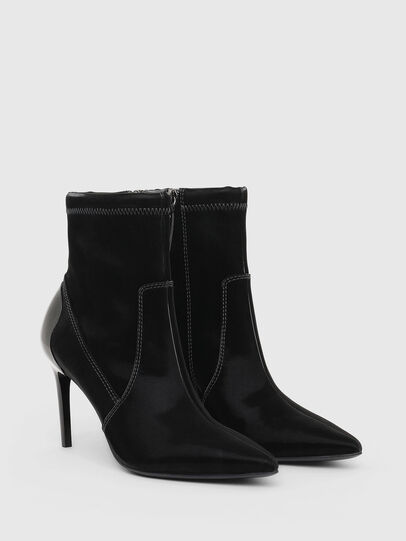 Diesel - D-SLANTY MABZC, Black - Ankle Boots - Image 2