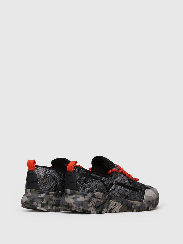 Diesel - S-KBY, Gray/Black - Sneakers - Image 2
