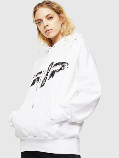 Diesel - S-ALBY-Y1, White - Sweaters - Image 2