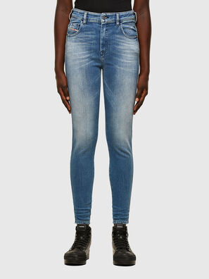 Slandy High 009JI, Light Blue - Jeans