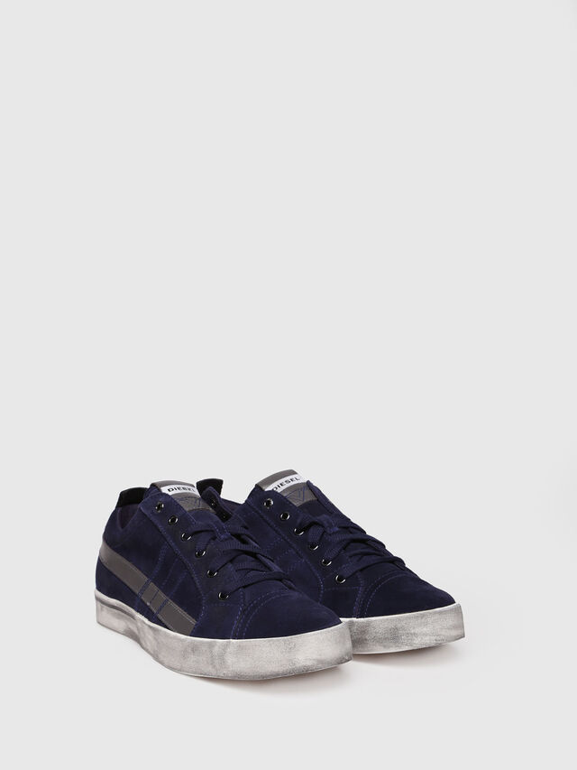 Diesel - D-VELOWS LOW LACE, Dark Blue - Sneakers - Image 3