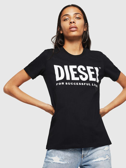 Diesel - T-SILY-WX, Black - T-Shirts - Image 1