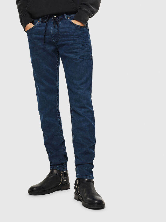 Diesel Thommer JoggJeans 0688J, Medium blue - Jeans - Image 1