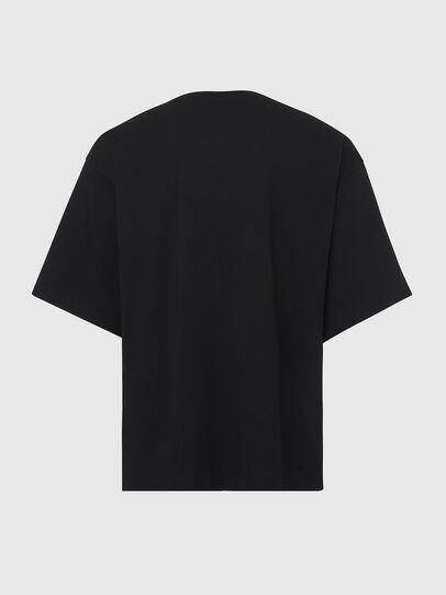Diesel - T-BALL-X2, Black - T-Shirts - Image 2
