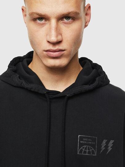 Diesel - S-GIRK-HOOD-SUN, Black - Sweaters - Image 4