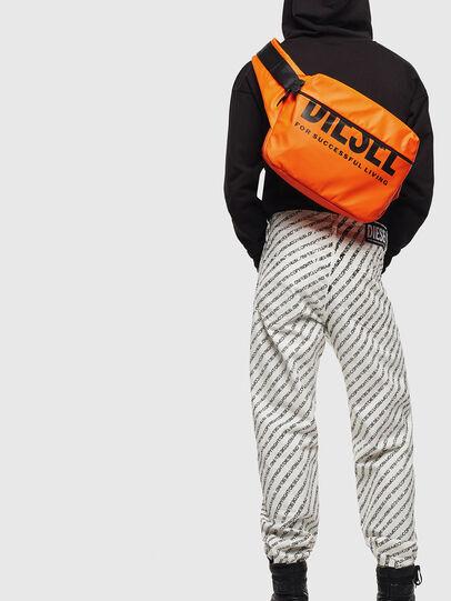 Diesel - F-BOLD CROSS, Orange - Crossbody Bags - Image 7