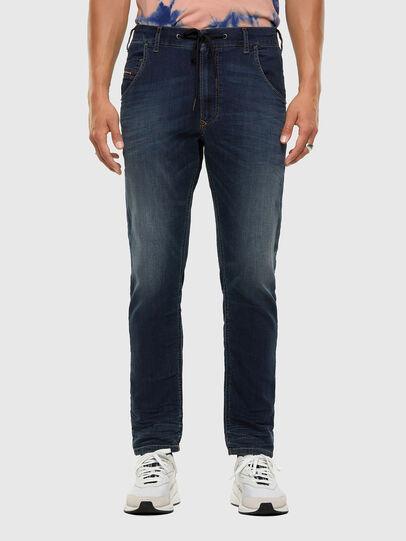 Diesel - Krooley JoggJeans 069NE, Dark Blue - Jeans - Image 1