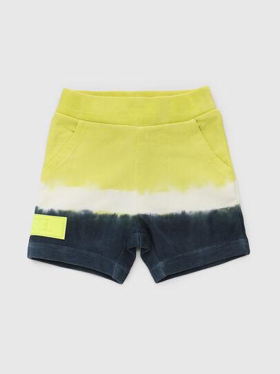 Diesel - PDEEPB, Blue/Yellow - Shorts - Image 1