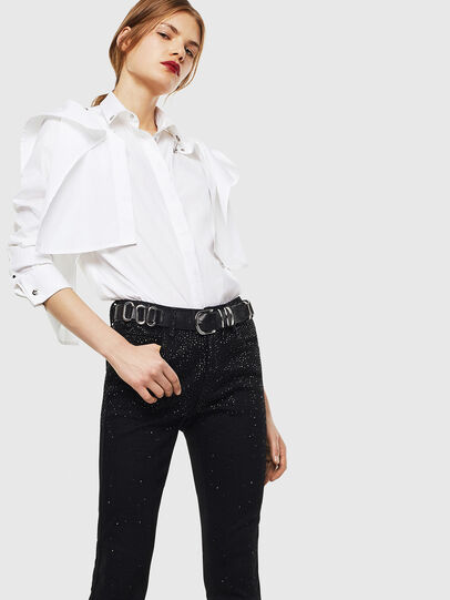 Diesel - C-RAILY-SHAPED, White - Shirts - Image 4