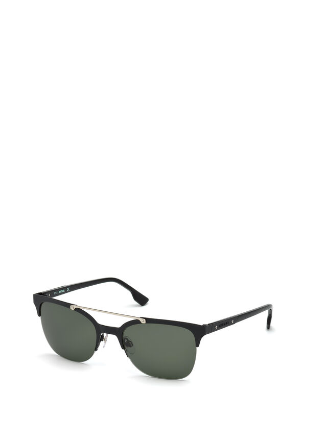 Diesel - DL0215, Black - Sunglasses - Image 4