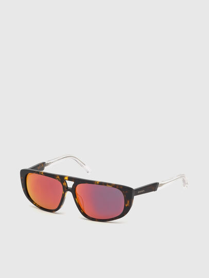 Diesel - DL0306, Brown/White - Kid Eyewear - Image 2
