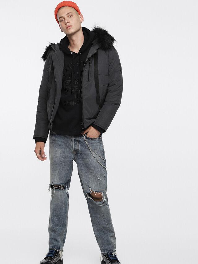 Diesel - W-CODY, Black - Winter Jackets - Image 6