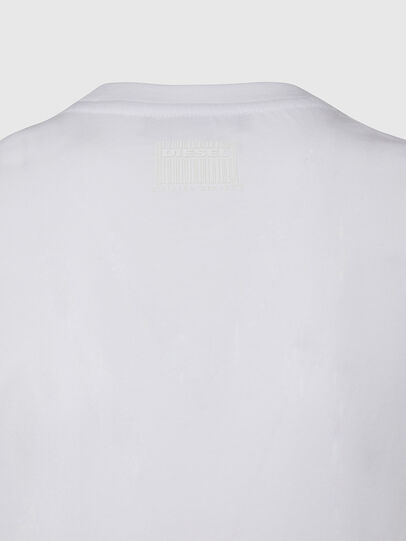 Diesel - T-SILY-E53, White - T-Shirts - Image 4