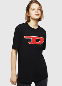 T-JUST-DIVISION-D-FL, Black