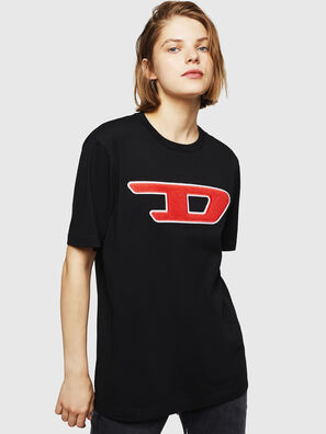 T-JUST-DIVISION-D-FL, Black - T-Shirts