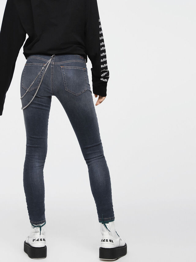 Diesel - Slandy 069BT, Dark Blue - Jeans - Image 2
