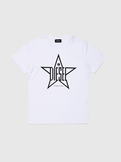 Diesel - TDIEGOYH, White - T-shirts and Tops - Image 1