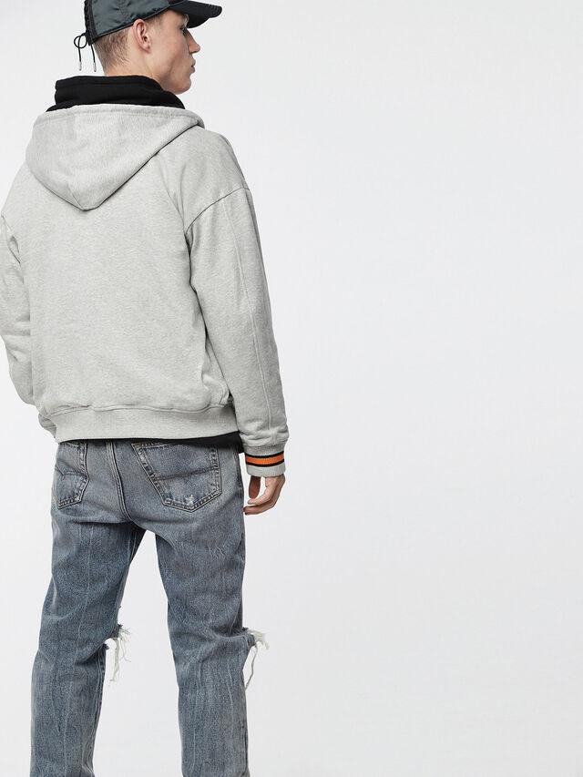Diesel - S-BONY, Light Grey - Jackets - Image 2