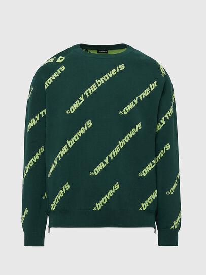 Diesel - K-DAVIS, Dark Green - Knitwear - Image 1