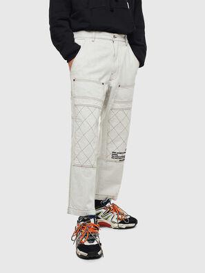 D-FRAK, White - Pants