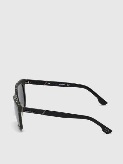 Diesel - DL0212, Military Green - Sunglasses - Image 4