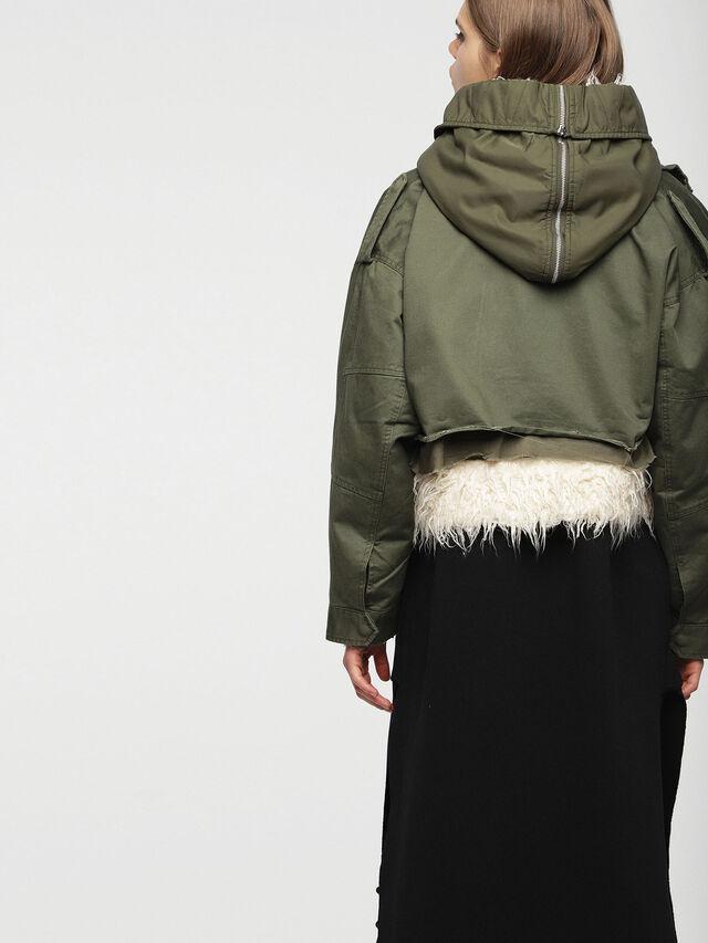 Diesel - W-LOTTI, Military Green - Winter Jackets - Image 2