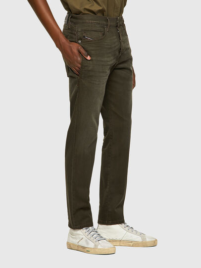Diesel - D-Fining-Chino 0699P, Military Green - Jeans - Image 4