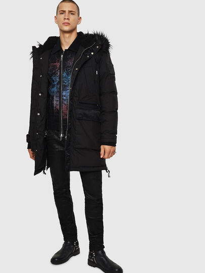 Diesel - W-BULLISK, Black - Winter Jackets - Image 6