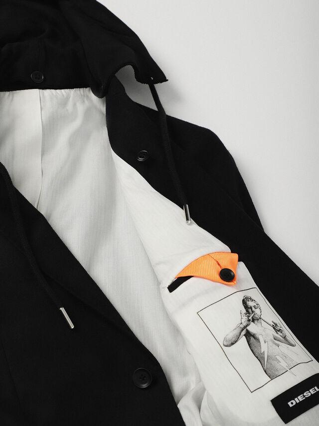 Diesel - J-TROUBLE, Black - Jackets - Image 5