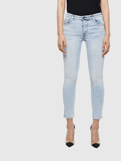 Diesel - Babhila 009AC, Light Blue - Jeans - Image 1