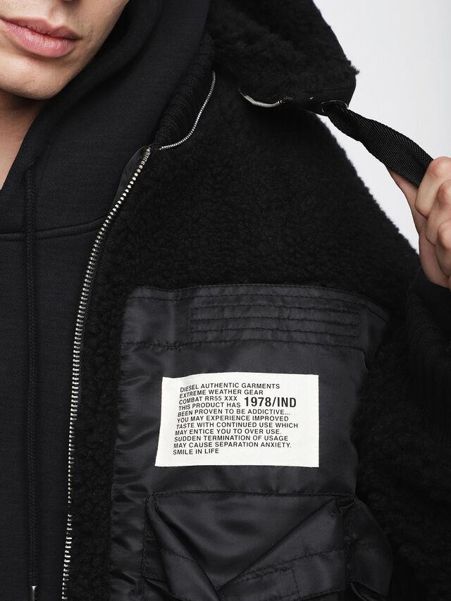 Diesel - W-PATTY, Black - Winter Jackets - Image 4
