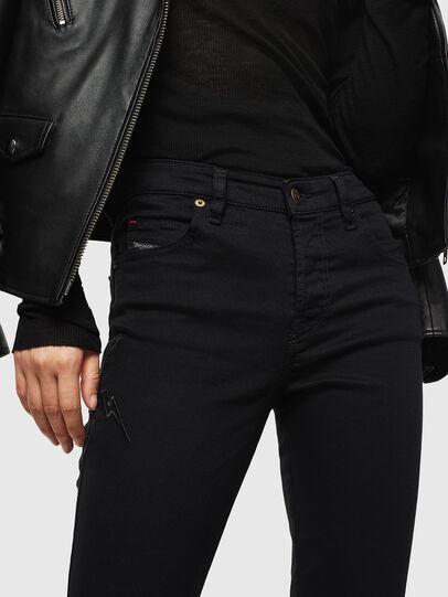 Diesel - Babhila 069PJ, Black - Jeans - Image 3