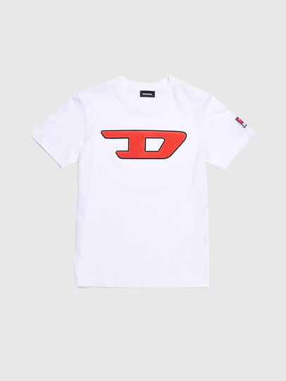 Diesel - TJUSTDIVISION-D, White - T-shirts and Tops - Image 1