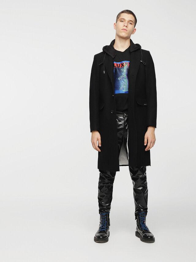 Diesel - W-DEXTER, Black - Winter Jackets - Image 3