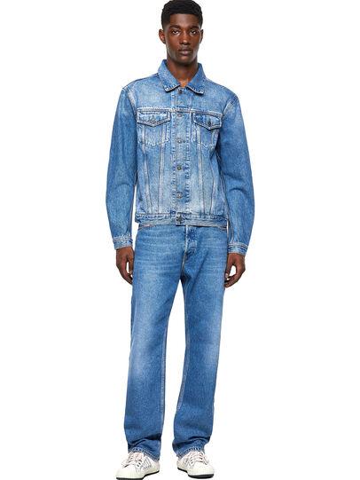 Diesel - D-SAL, Light Blue - Denim Jackets - Image 4