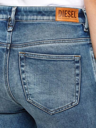 Diesel - Slandy High 009PT, Light Blue - Jeans - Image 3