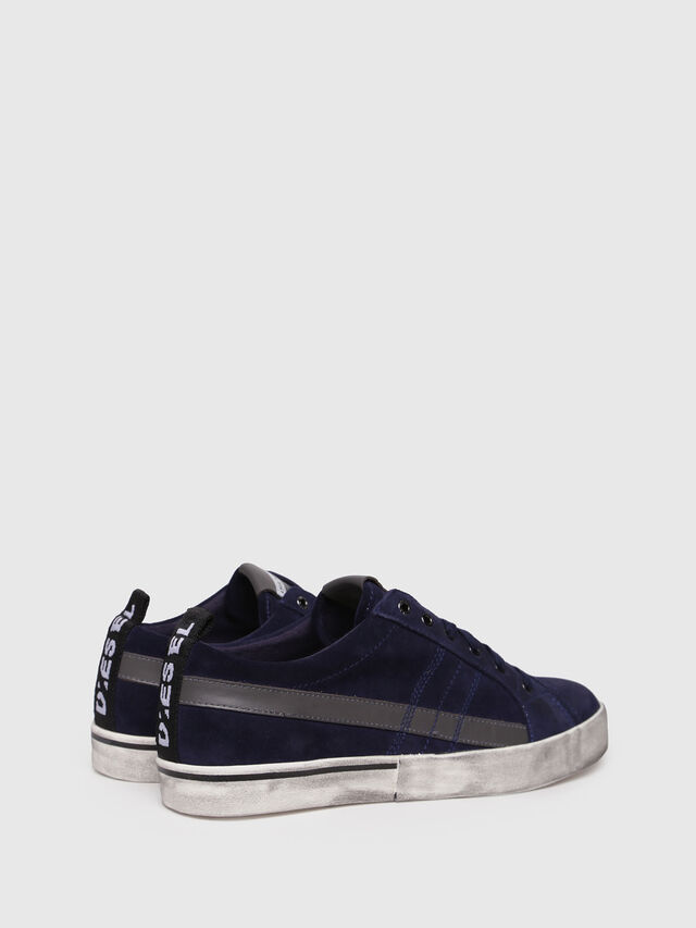 Diesel - D-VELOWS LOW LACE, Dark Blue - Sneakers - Image 2