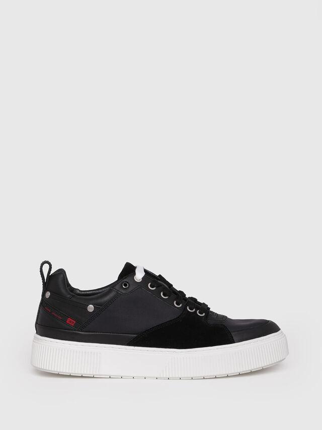 Diesel - S-DANNY LC, Black - Sneakers - Image 1