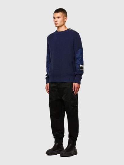 Diesel - K-GILLING, Blue - Knitwear - Image 5