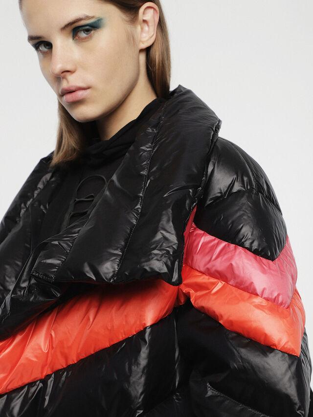 Diesel - W-HERMA, Black - Winter Jackets - Image 4