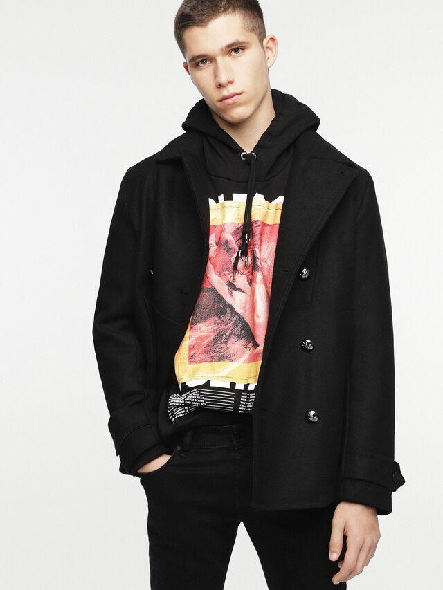 Diesel - W-BANFI, Black - Winter Jackets - Image 1