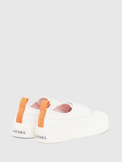 Diesel - S-VANEELA LOW, White/Orange - Sneakers - Image 3