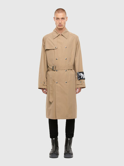 Diesel - J-JAY, Light Brown - Jackets - Image 1